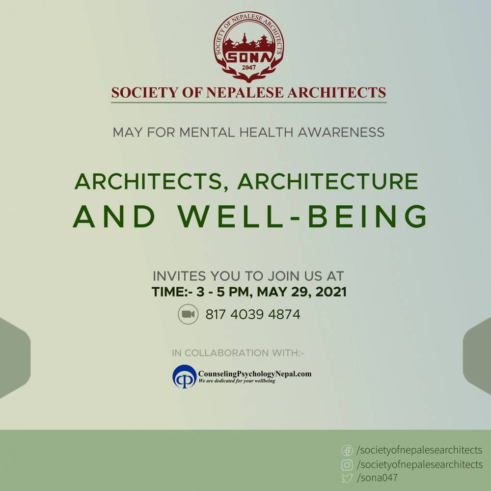 Architects, Architecture and Well Being