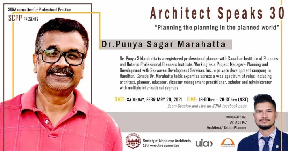 Architect Speaks 30